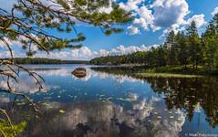 Kesämaisema, Summer scenery (NI5A4325LR-2) (pohjoma) Tags: maisema scenery landscape canoneos5dmarkiv finland canonef24105mmf4lisusm järvi lake lakescape järvimaisema kesä summer summerday kesäpäivä vesi water