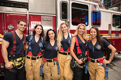 20180725-FDNY-2019-Calendar-Launch-003 (Official New York City Fire Department (FDNY)) Tags: fdny calendar ems emt firefighter fit men nyc paramedic timessquare women