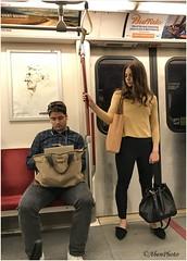 180626 Toronto Subway Riders (2) (Aben on the Move) Tags: ttc subway people transit
