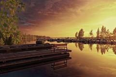 DSC06037rx100IV (jaaselin) Tags: finland suomi luonto finnishnature pirkkala pyhäjärvi lake summer sunset evening auringonlasku järvi koivu birch beach boats rowboats veneitä satama laituri blackandwhite mustavalkoinen pier photography colors