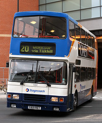 16469 S169 RET (Cumberland Patriot) Tags: stagecoach yorkshire traction east midlands division volvo olympian alexander rl 16469 s169ret step entrance double decker deck bus