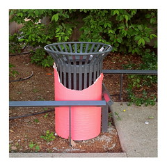 34 (trash can) (ngbrx) Tags: annemasse auvergnerhônealpes france frankreich trash can mülleimer