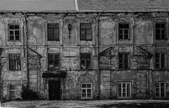 Lithuania-1-36 (Michael Yule - I Can See For Miles) Tags: vilnius oldbuildings architecture lithuania baltics northerneurope travel holidays tourism tourist blackandwhite monochrome nikond7100 outdoors