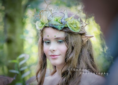 Do you believe in Fairies? (SRadwan Photography) Tags: fairies nevendonmanor nevendonmanorevents sel70200g sonya7rii bokeh portraiture colours colourful fairygirl