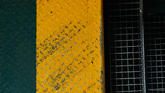 Green-yellow-black (frankdorgathen) Tags: hamburg fähre ferry texture textur iron eisen colors farben farbenfroh colorful minimalism minimalistic minimalismus minimalistisch banal mundane sony