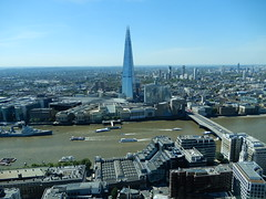 View of the Shard, London Bridge etc. from the Sky Garden (John Steedman) Tags: skygarden london uk unitedkingdom england イングランド 英格兰 greatbritain grandebretagne grossbritannien 大不列顛島 グレートブリテン島 英國 イギリス ロンドン 伦敦 shard londonbridge