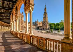Plaza de España (Daniel.Peter) Tags: andalusien plazadeespana sevilla seville spain spanien dpe3x