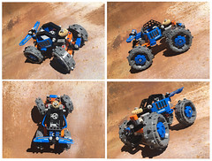 42071 Monster Buggy (KEEP_ON_BRICKING) Tags: lego moc mod set technic 2018 42071 dozer compactor monster buggy remake remix model alternate alt alternative custom design afol keeponbricking youtube howtobuild howtomake instructions tutorial video rust big wheels blue panel pin beam awesome new