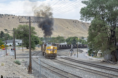 West Elk Coal Departs Helper (Utah3002) Tags: trains up railroads railfans