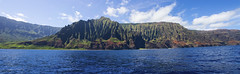 NaPali_Pano (bekajma19) Tags: napali kauai nikon blue green hawaii coast clouds panorama