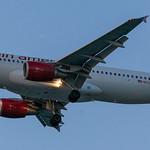 Virgin America Airbus landing at KLAX thumbnail