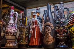 Vintage  Wine Bottles from Georgia (Raji PV) Tags: wine bottles ceramic clay georgia tbilisi rajipv philipose jars jugs ussr joseph stalin