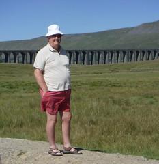 Ribblehead Viaduct (pj's memories) Tags: ribbleheadviaduct shorts sunhat yorkshiredales railway