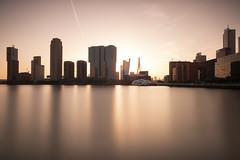 Waterworld (Robert_Franz) Tags: architecture architectural cityscape city colors building water rotterdam netherlands nd longexposure fineart modern exterior skyscraper sunset