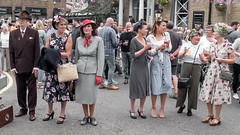 FX306377-1 Brighouse, uk, 1940's Weekend 2018 (Lawrence Holmes.) Tags: fuji fx30 1940 reenactment war army navy raf 1940s brighouse calderdale westyorkshire uk usa lawrenceholmes