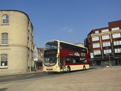 East Yorkshire 754 YX09BKL Queens Dock Ave, Hull on X46 (1280x960) (dearingbuspix) Tags: eyms eastyorkshire goahead gonortheast 754 yx09bkl