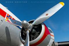 DDA_DC-3_PH-PBA_20180715_LBC-03 (Dirk Grothe   Aviation Photography) Tags: classic dutch dakota dc3 phpba lbc lübeck dda