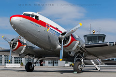 DDA_DC-3_PH-PBA_20180715_LBC-12 (Dirk Grothe | Aviation Photography) Tags: classic dutch dakota dc3 phpba lbc lübeck dda