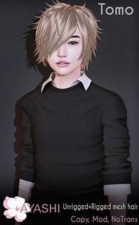 [^.^Ayashi^.^] Tomo hair again available at mainstore