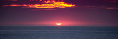 Good Evening (Brian Travelling) Tags: pentax kr pentaxkr scotland england sunset water northsea eastcoast northyorkshire whitby coast