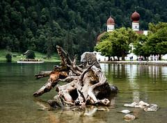 Königssee, Bayern (Ludo_Jacobs) Tags: germany bayern bavaria deutschland königssee travel tourism lake see meer mountains berge church europe