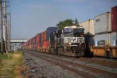 NS 25N - Swanton, Ohio (Tyler Pate) Tags: nikond500 nikonphotography swantonohio ns9895 ns25n nscorp norfolksouthern norfolksoutherncorp