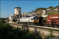 266 in Rammelsbach (Nahebahner_JL) Tags: glantal glan steinbruch schotterzug emd class 66 77 266 426 247 026 ecr euro cargo rail db deutsche bahn train zug