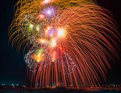 Fireworks (Lee Rosenbaum) Tags: composite longexposure fireworks landscape night mqabba malta limqabba mt timestack feastofourladyofthelily