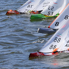Victorian Marblehead Champs 2018 ~ 30 (Jaybee35) Tags: victorian marblehead championships rm radio yachting sailing rc control model boat apmyc edgewater melbourne australia july 2018