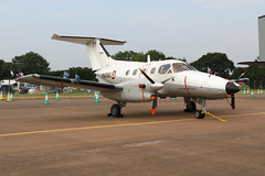 French Navy Xingu (joolsgriff) Tags: embraer emb121an xingu 77 28f aeronavale frenchnavy riat riat2018 royalinternationalairtattoo raffairford