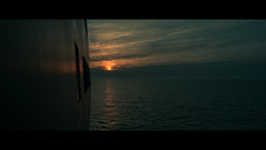 Ferry from Tallinn to Stockholm (emrecift) Tags: landscape sunset dim light cloudporn photography moody ferry cinematic 2391 anamorphic nikon d600 nikkor 24mm f28 wide angle emrecift