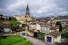 Saint-Émilion (alexring) Tags: saintémilion nouvelleaquitane gironde bordeaux france wine winemaking medieval town village traditional rooftops nikon d750 alexring