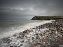 Pebble Wash (Peter Henry Photography) Tags: water sea tide pebbles beach stbees coast cumbria waves