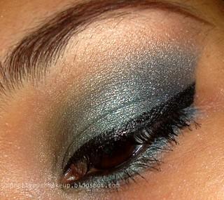 MAC Teal Pigment Review, Fotos