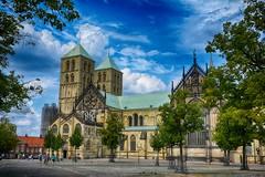 Münster 2018 (22_Juli)_0522b (inextremo96) Tags: münster botanischergarten muenster westfalen widertäufer lamberti aegidien dom kirche church germany mittelalter darkage kiepenkerl