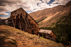 Champion Mill (Lukas Gordon) Tags: grass mines landscape plants leadville outdoor clouds halfmonroad alpine mill flowersplants colorado sky photography portfolio 4x4 2018 mountain lukasgordon