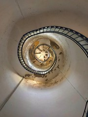 Lighthouse stairs. (juliegallagher) Tags: lighthouse light shadow whitleybay