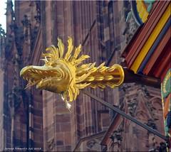 Frankfurt am Main - Wasserspeier Goldene Waage