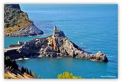 DSC_0668 (marco.falaschiii) Tags: liguria italy italia portovenere mare sea blu chiesa chirch roccia rock la spezia riviera ligure