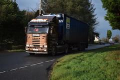 JIG 5832 - NI Plastics Ltd Recycling Ballymena County Antrim (Jonny1312) Tags: lorry truck rasharkin ballymena scania scania143 walkingfloortrailer