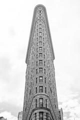 Flatiron Bulding (ep_jhu) Tags: nyc x100f newyork building manhattan newyorkcity fuji bw flatiron lookingup acros fujifilm architecture unitedstates us