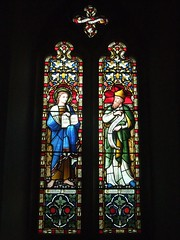 St. Mary's Church, Tarrant Gunville, Dorset (Living in Dorset) Tags: stmaryschurch tarrantgunville dorset england uk gb stainedglasswindow churchwindow church window