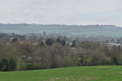 Westerham (PLawston) Tags: uk england britain kent westerham greensand hills view town north downs