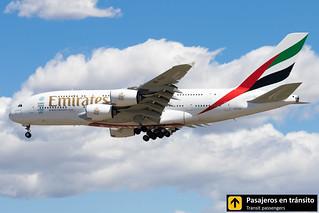 Airbus A380 Emirates A6-EOC