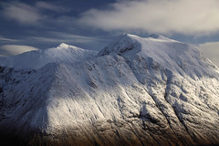The Peak Of The Mountains (Russell-Davies) Tags: snow winter hiking climbing canon 6dmkii bideannambian ice uk scotland highlands argyll lochaber clouds munro
