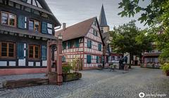 Der schöne Ort Kork (john_berg5) Tags: fachwerk alt old city elsas strasburg kehl