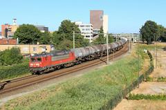 DB Cargo 1611 @ Hengelo (Sicco Dierdorp) Tags: db dbc cargo serie1600 keteltrein ketelwagens styreen hengelo almelo badbentheim