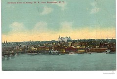Hudson river 1912  albany ny (albany group archive) Tags: early 1900s skyline old albany ny vintage photos picture photo photograph history historic historical