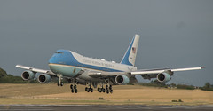 Air Force 1 visit (sazzy_ox) Tags: af1 air force one usa president scotland