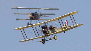 Royal Aircraft Factory BE2c - 687